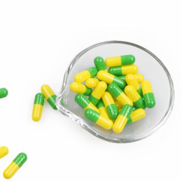 Cápsulas de gelatina vegetal vacías vacías de pululano tamaño 4