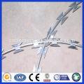 professional galvanized concertina razor barbed wire, razor barbed wire, razor wire
