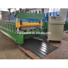 Corrugated Sheet Metal Roof Making Machine , Aluminium Galvalume Galvanized Steel Roofing Sheet Roll Forming Machine For Africa