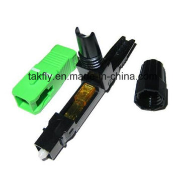 Fiber Optical Embedded FTTH Sc APC Fast Connector
