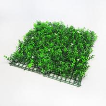 Home garden decor PE Material artificial boxwood hedge mat