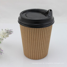 Ripple Walled Paper Kaffeetasse