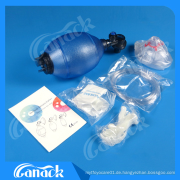 Ce Approved High Quality PVC Hand Beatmungsbeutel