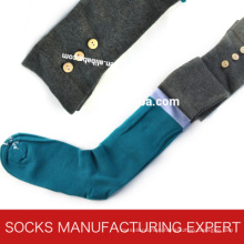 100% Cotton of Woman Coloful Tube Sock (UBM1048)