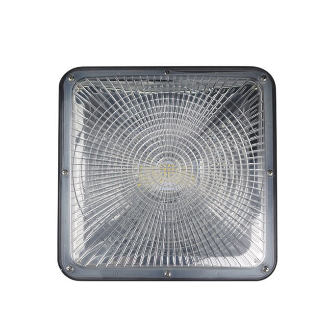 IP65 waterproof 50w led canopy light
