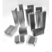 Perfis de alumínio OEM usados no dissipador de calor