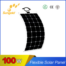 High Efficiency Lower Price Flexible Solar Panel 100W