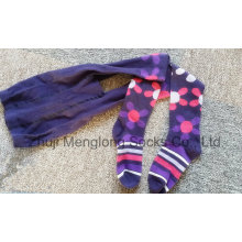 Schöne Mädchen Baumwolle Strumpfhosen Zoll Designs für den Großhandel