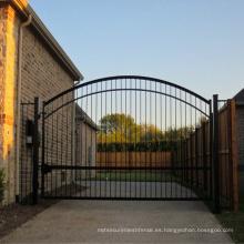 Puerta de hierro forjado / puerta de jardín con mejores ventas del producto