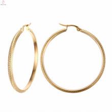 Beautiful Large Gold Hoop Earrings Designs For Girls