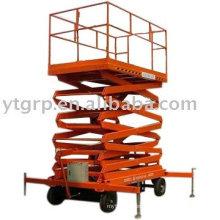 plataforma de trabajo móvil hidráulica de ruedas