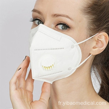Masque facial jetable KN95 Earloop Nonwoven