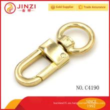 Nuevo gancho del gancho del eslabón giratorio del gancho del correo del perro del bolso del diseño de los accesorios del bolso