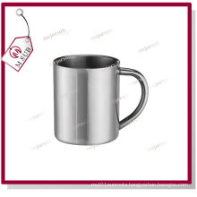 300ml 11oz Sliver Sublimation Stainless Mug with C Handle