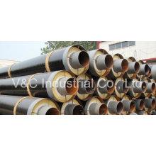 Stahlummanteltes Stahlisolierrohr