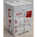 Iron Container Cabinet Painted White Color