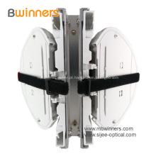 Fechamento de emenda de cúpula de fibra de 5 portas com emendas de fusão única