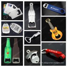 guitar bottle opener keychain custom