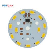 Customized 7W 9W 12W 60mm LED Electronic Printed Circuit PCB Board