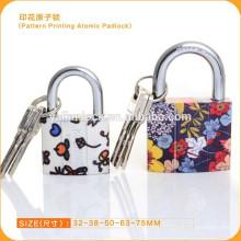 New Style Pattern Printing padlock With Atomic Key