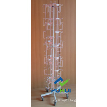 7 Tier 6 Sides Spinning Floor Card Stand (PHC209)
