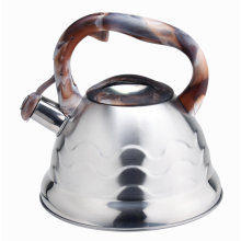 Colorful handle whistling coffee pot kettle unique pattern