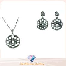Ensemble de bijoux fantaisie en argent sterling de haute qualité en argent sterling (S3282)