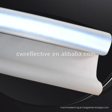 tecido reflexo do spandex do algodão do estiramento da luz alta para fazer o revestimento
