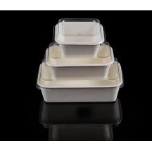 biodegradable salad bowl,disposable sugarcane pulp white bowl