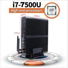 7th Gen Fanless Mini PC Intel Core I5 7200u I3 7100u Intel HD Graphics620 14 Nm Wind. Ows 10 Barebone 4k HTPC Desktop Computer