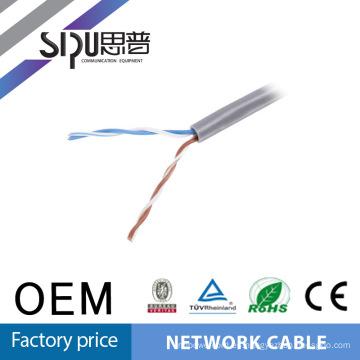 SIPUO caliente vender a precio de fábrica de 2 pares utp cat5e 2 pares cable