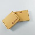 Food Grade Carton Box Custom Corrugated Kraft Paper Burger Box