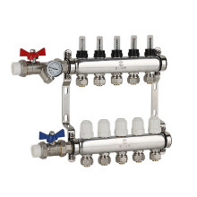 304 Stainless Steel Water Separator for Floor Heating System