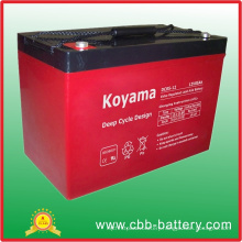 12V 85ah Deep Cycle AGM Battery for RV (Recreational Vehicle)