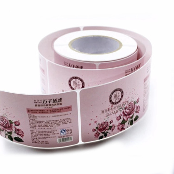 Custom Offset Printed Roll Label Color Label Bottle