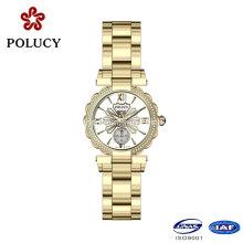 2016 préféré de première qualité femmes inoxydables acier montres Dame avec Design de luxe