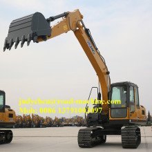 XCMG excavadora hidráulica de 15 toneladas XE150D excavadora de cadenas
