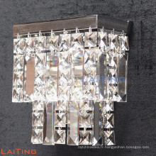 Hotel projects cheap wall lamp square crystal wall lamp 32436