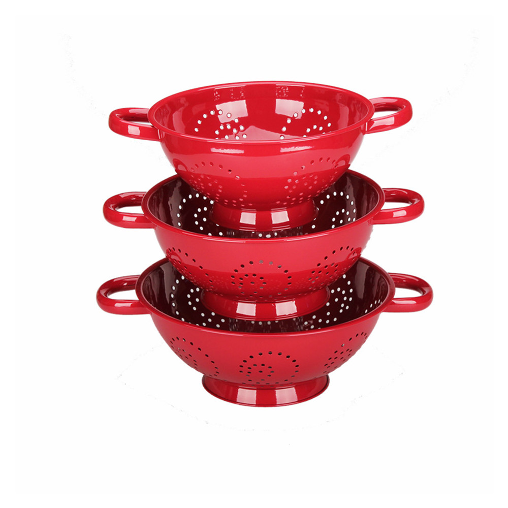 Romantic Red Kitchen Aid Colander
