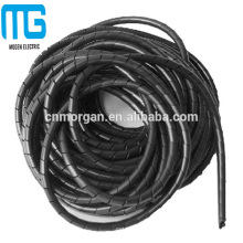Manga espiral blanca modificada para requisitos particulares de la protección del alambre de la tubería