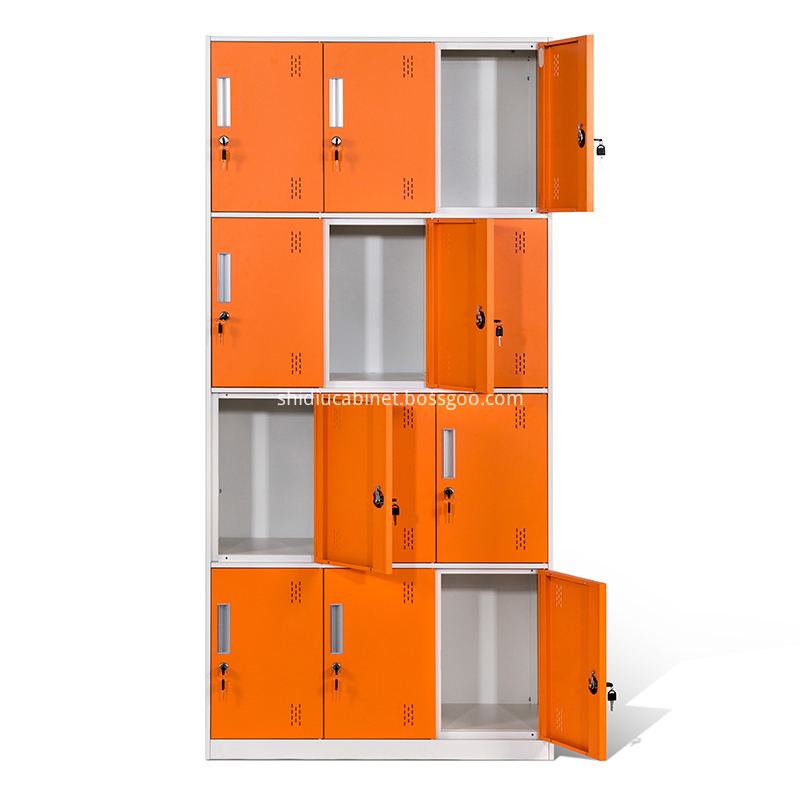 Narrow Frame 12 Door Locker 3