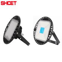 SMD Highbay Light 100W 150W 200W IP65 LED UFO Warehouse Lamp 2500K 3500K 4500K 6500K ROHS BIS Certificate From SHCET