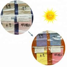 Fotossensível pó de luz sensível à mudança de cor pó Pigmento fotocromático UV sol para revestimento, unha polonês.
