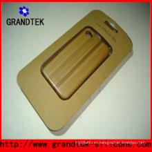 Hermosas cajas de madera grabado para la cubierta del iPhone5