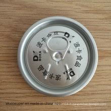 Prix bon marché 202 Couvercles en aluminium pour boissons aux fruits Bière