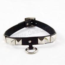 Gets.com collar de cuero de las mujeres del cuero del zurriago