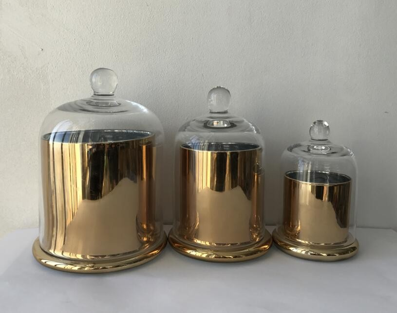 Hand Made Luxury Glass Candle Jar Wholesale3