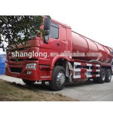 Caminhão da sucção da água de esgoto de Sinotruk HOWO 6X4 16000L