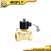 24 volt brass/stainless steel normally closed solenoid valve coil China manufacturer