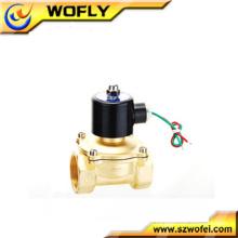 24 volts latão / aço inoxidável normalmente fechado solenóide bobina China fabricante
